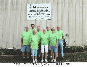 2013 Mississippi Disaster Relief Team