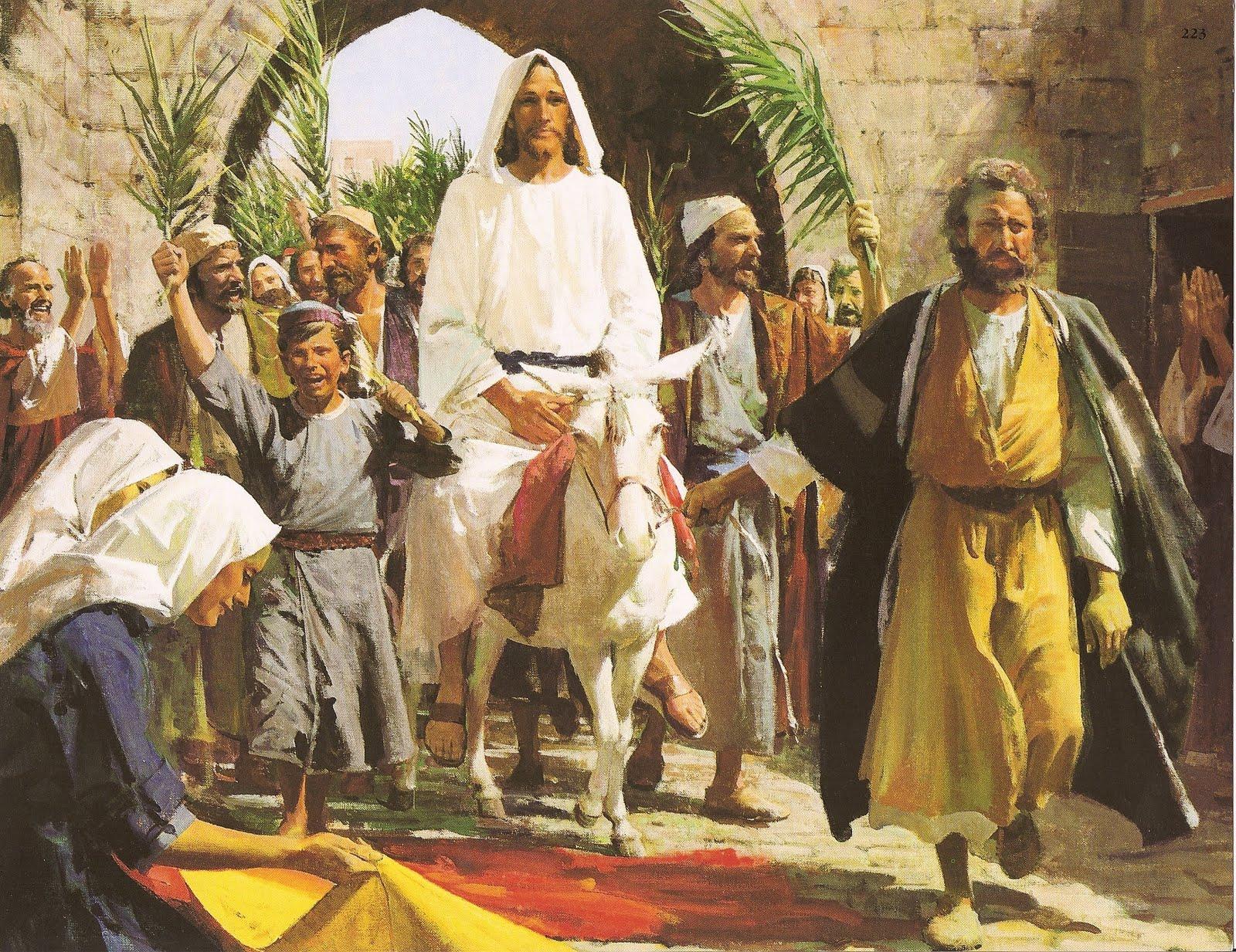 Triumphal Entry Triumphal entry painting